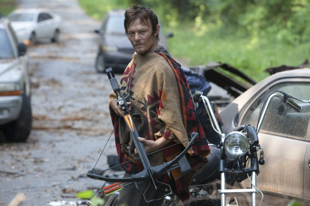 Daryl Dixon (Norman Reedus) - The Walking Dead - Season 3, Episode 5 - Photo Credit Russell Kaye/AMC