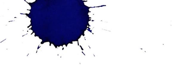 blau rotzender Kugelschreiber