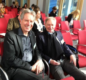 Klaus Seifried, Schulpsychologiedirektor und Dr. Wolfgang Schill, der Initiator der Tagung und GMK-Ehrenmitglied, (c) Susanne Bergmann