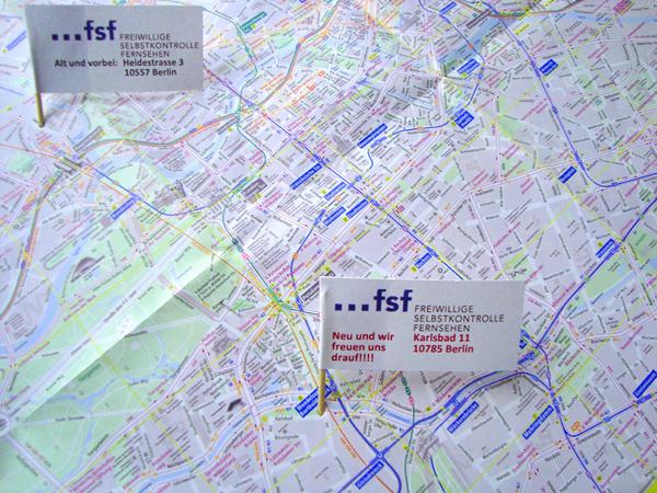 Die FSF zieht um! Neue Adresse: Karlsbad 11, 10785 Berlin