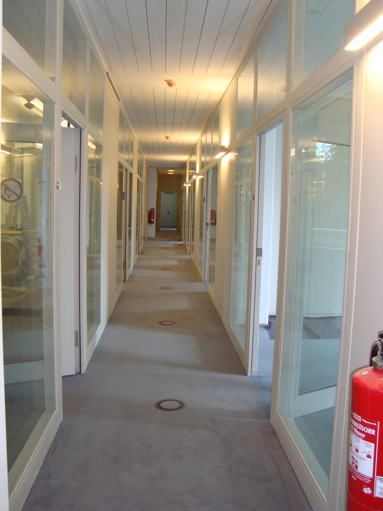 Hell und freundlich - die neuen Räume der FSF