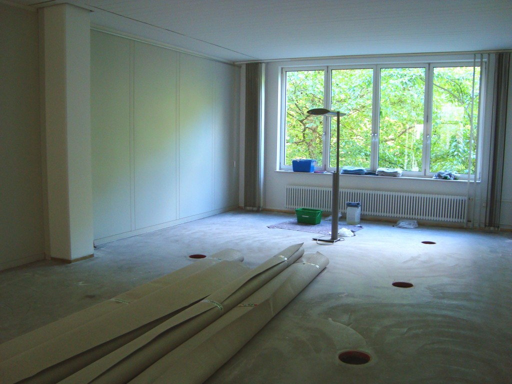 Noch ist es eine Baustelle - bald unsere neuen Prüf- und Büroräume