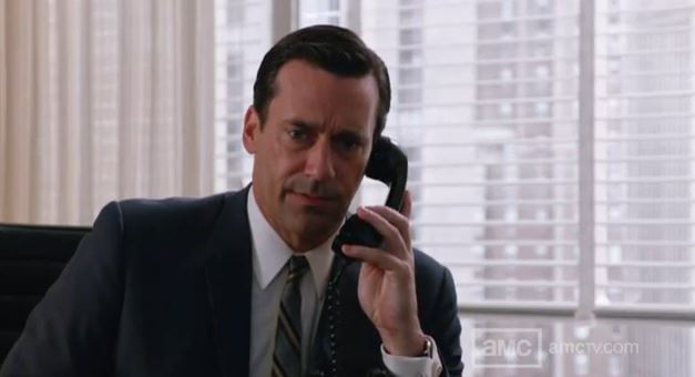 Don Draper, Season 5 Mad Men, © AMC
