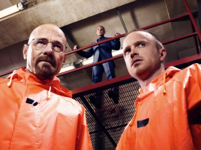 Walter White, Gus und Jesse Pinkmann, © RTL NITRO