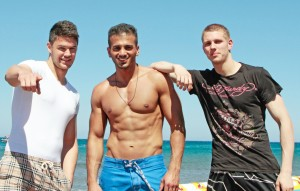 Next, Please! Manuel, Ali und Chris © RTL II