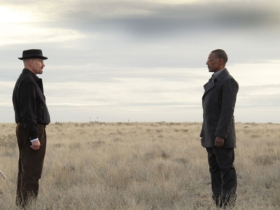Walter White (Bryan Cranston, li.) und Fring (Giancarlo Esposito) (c) RTL NITRO