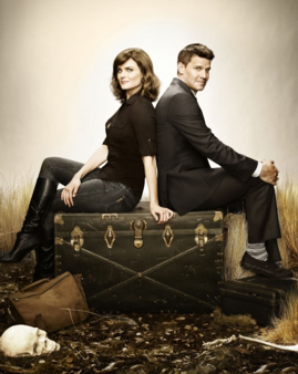 Dr. Temperance Brennan (Emily Deschanel) und FBI Special Agent Seeley Booth (David Boreanaz) (c) RTL