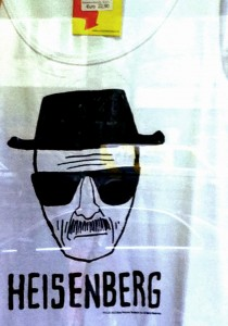 Heisenberg-Fan-T-Shirt zur Serien Breaking Bad © Susanne Bergmann
