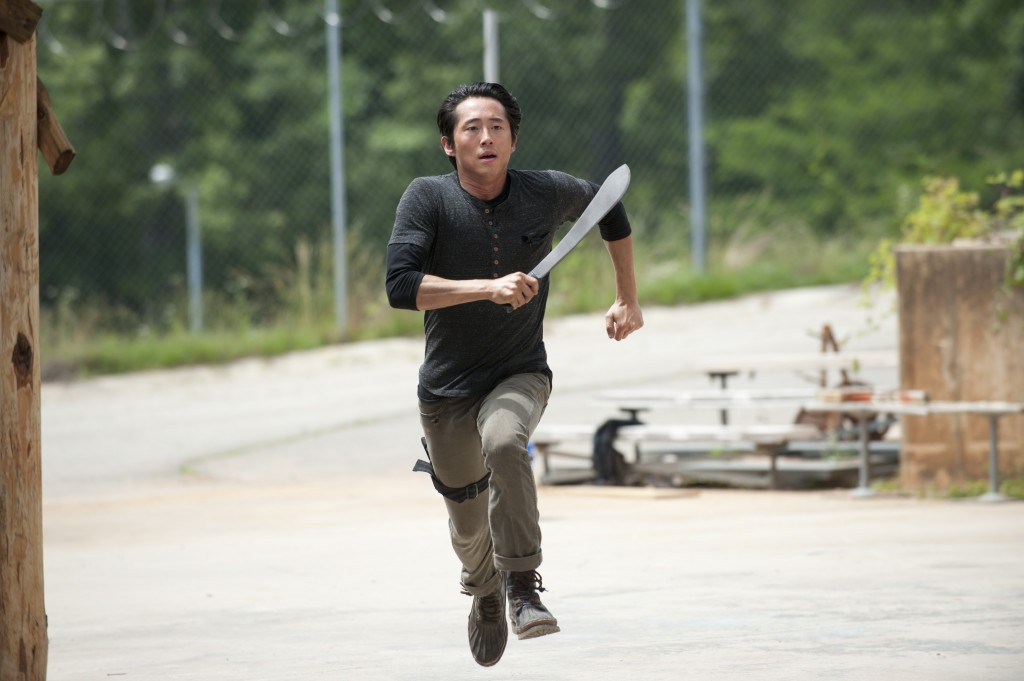 Glenn (Steven Yeun) - The Walking Dead - Season 4, Episode 2 - Photo Credit: Gene Page/AMC