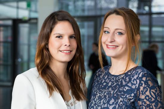 Elena Vohl und Carolin Maier
