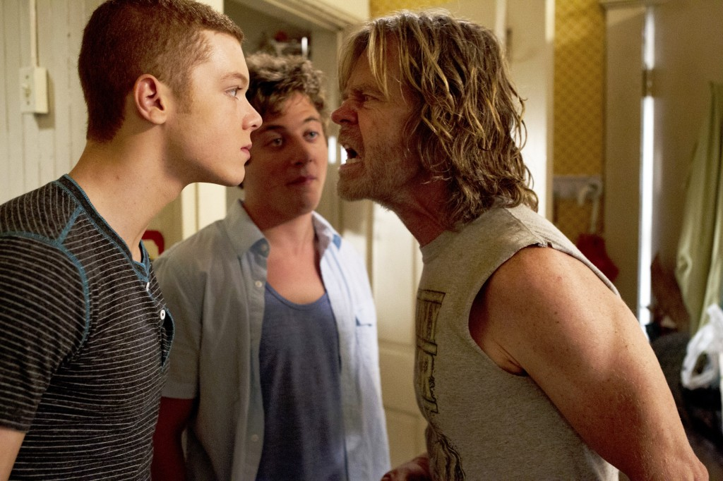 William H. Macy als Frank Gallagher in Shameless © 2012 WBEI. All rights reserved.