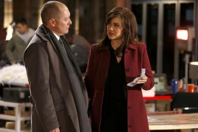 (v.l.): James Spader als Red Reddington und Elizabeth Keen als Megan Boone (c) RTL Crime