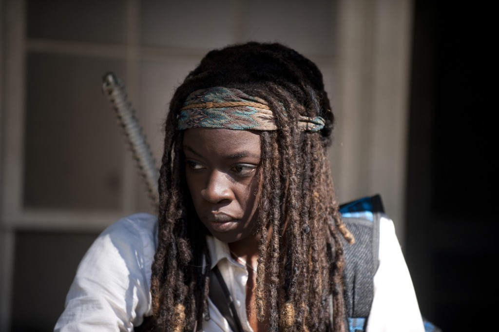 Michonne (Danai Gurira), The Walking Dead © Gene Page/AMC