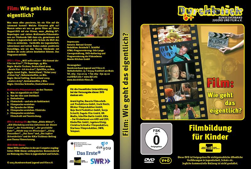 DVD-Cover Film: Wie geht das eigentlich?