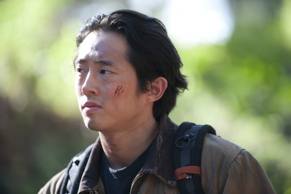 Glenn (Steven Yeun), The Walking Dead © Gene Page/AMC