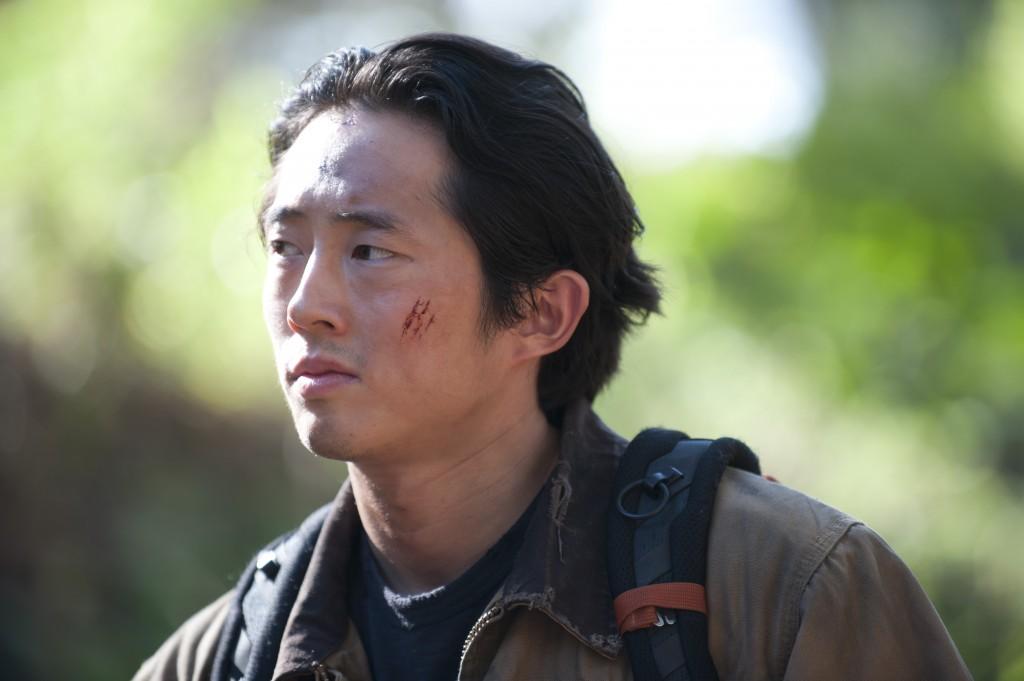 Glenn (Steven Yeun), The Walking Dead © Gene Page/AMC