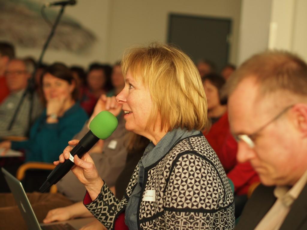 Susanne Bergmann, Hauptamtliche prüferin FSF (c) FSF