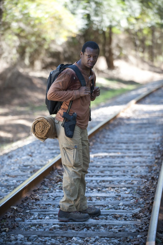 Bob Stookey (Larry Gilliard Jr.), The Walking Dead © Gene Page/AMC