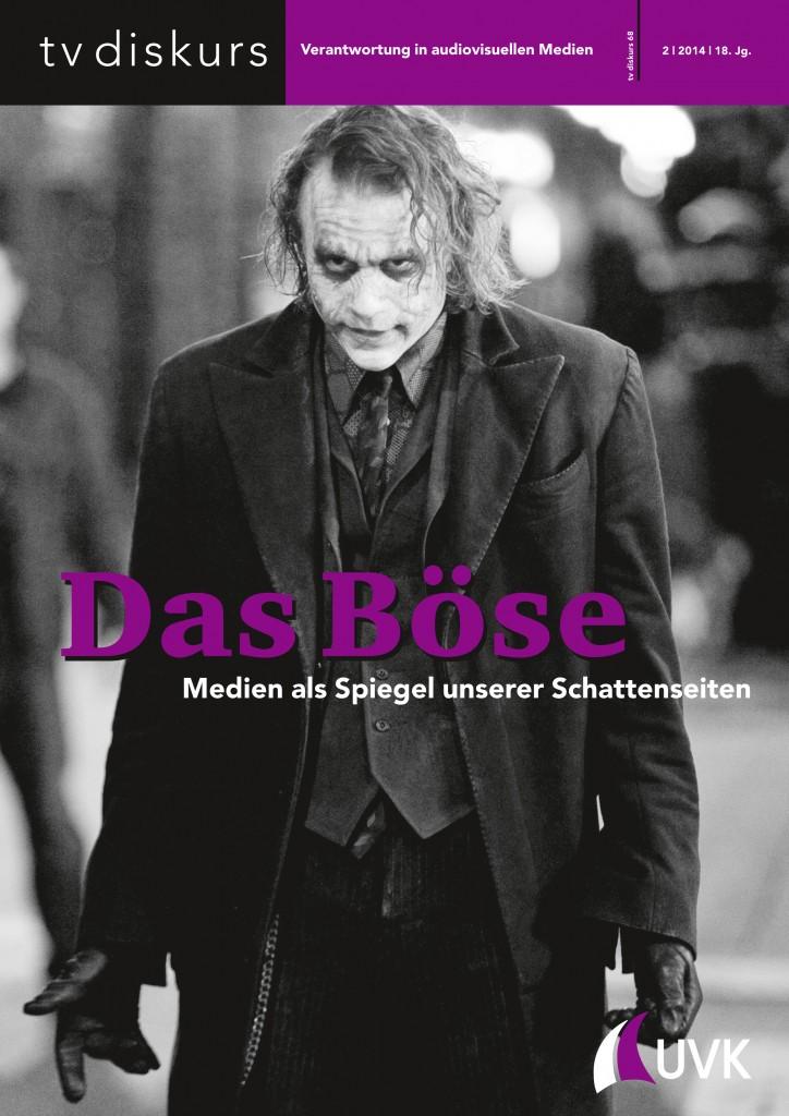 tv diskurs - Verantwortung in audiovisuellen Medien, Ausgabe 2/2014 Das Böse. Medien als Spiegel unserer Schattenseiten (c) FSF