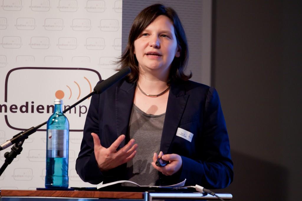 """Dr. Friederike Siller, medien impuls """"Let me edutain you"""" © FSF"""