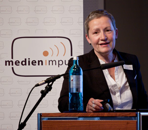 "Jutta Croll, medien impuls ""Let me edutain you"" © FSF"