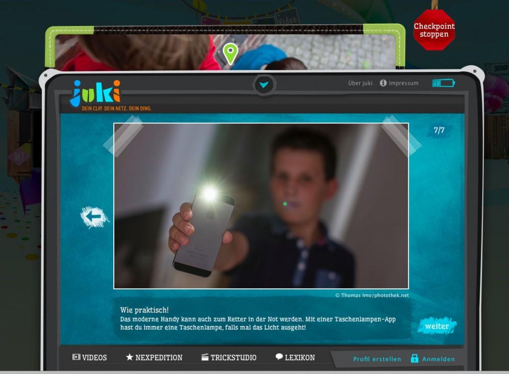 Mein Handy & ich – neuer juki-Checkpoint klärt spielerisch auf