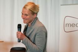 Christina Heinen, Sommerforum Medienkompetenz 2014 (c) FSF