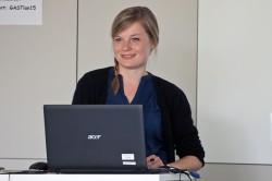 Lilian Masuhr, Sommerforum Medienkompetenz 2014 (c) FSF