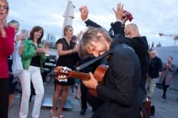Die Akustischen Vier auf der Jubiläumsfeier der Freiwilligen Selbstkontrolle Fernsehen e.V. © FSF