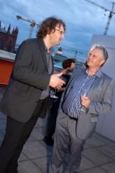 20 Jahre FSF, Matthias Struch und Lothar Mikos © FSF
