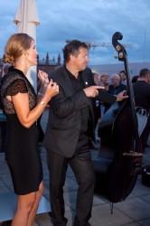 20 Jahre FSF, Camilla Graubner (FSF) und die Akustischen Vier © FSF