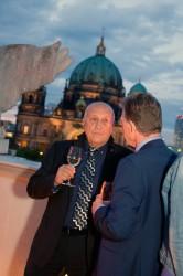 Dr. Ulrich Spies (Leiter des Referates Grimme-Preis) und Wim Bekkers (NICAM) © FSF