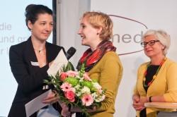 medius-Preisträgerin 2014: Franziska Dettke, Laudatorin: Ida Pöttinger (c) FSF