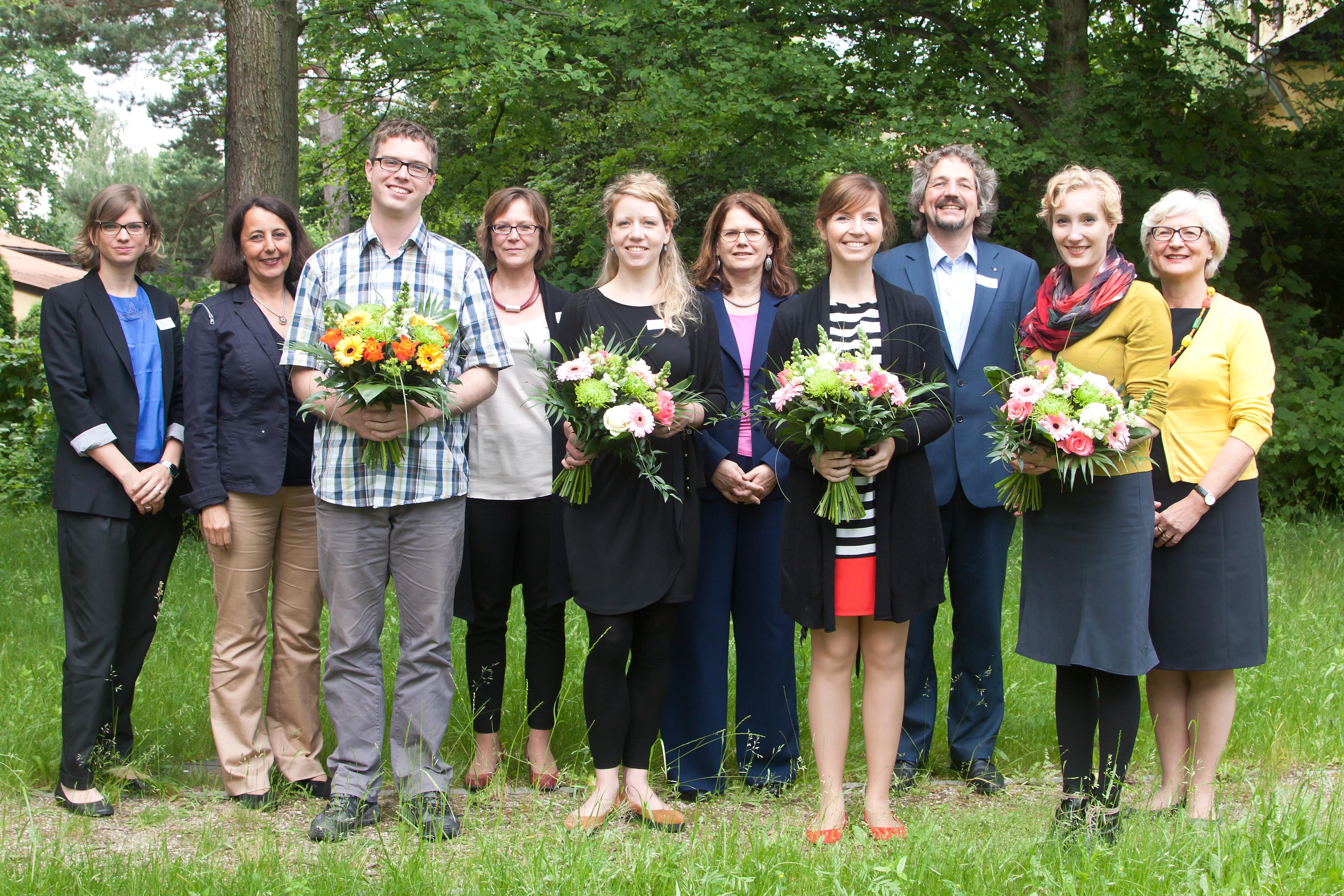 Die Laudatoren und Preisträger des medius 2014 (c) FSF