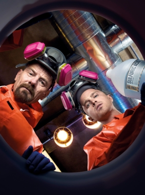 4. Staffel Walther White (Bryan Cranston, l.) und Jesse Pinkman (Aaron Paul)