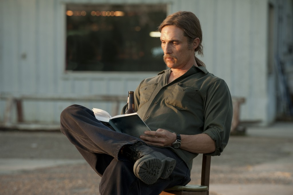 Mc Conaughey in True Detective © (2014) Home Box Office, Inc.