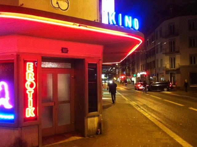 Sexkino Roland im Langstrassenquartier in Zürich