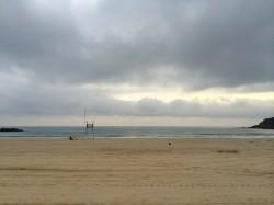 Am Strand von San Sebastian, 62. Internationales Filmfestival (c) Sonja Hartl
