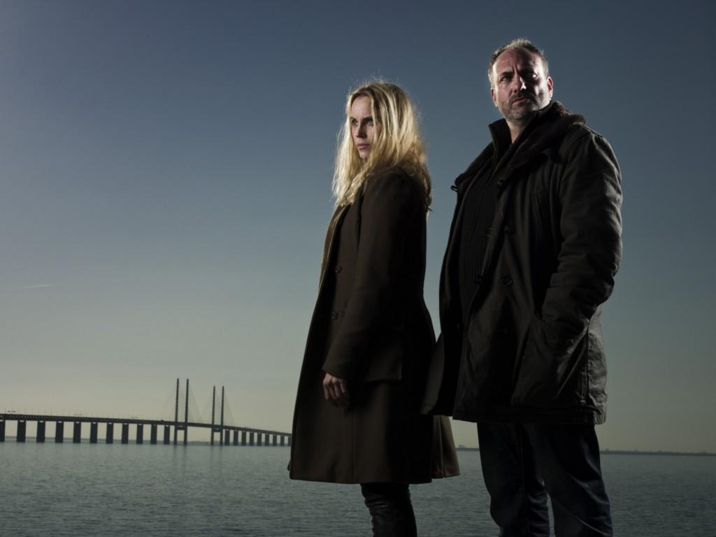 Kim Bodnia und Sofia Helim in Die Brücke - Transit in den Tod © Ola Kjelbye Fotografi AB