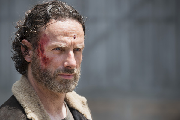 Andrew Lincoln als Rick Grimes in The Walking Dead Season 5, Episode 1 © Gene PageAMC