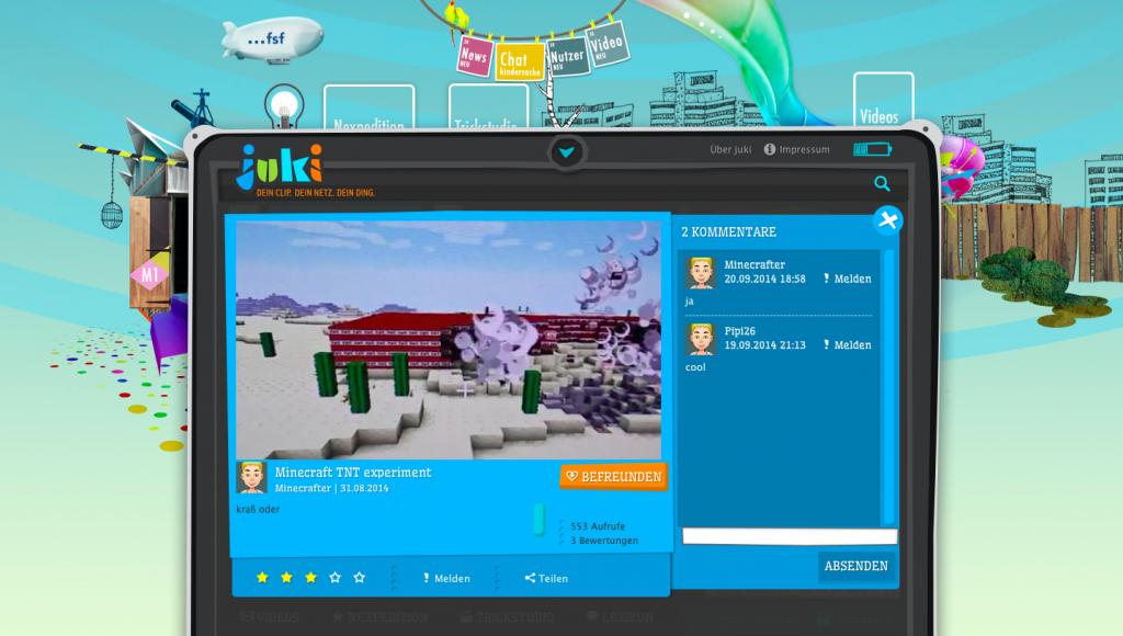 TNT-Experiment von Minecrafter auf juki.de (c) juki.de