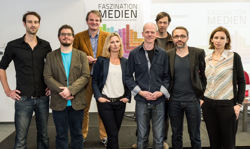Das Team hinter Faszination Medien (c) bpb/FSF/Filmuniversität