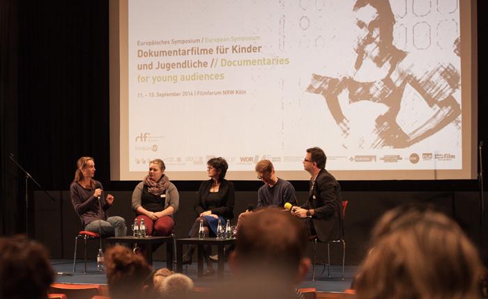 """""""Partizipation und dokumentarisches Fernsehen"""" © Mathis Hanspach"""