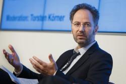 Streitgespraech medienimpuls, Moderation Torsten Koerner © Thomas Trutschel/ photothek.net/ FSM