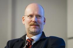 """Prof. Dr. Oliver Castendyk, Allianz deutscher Produzenten auf der medien impuls """"Menschenwürde in den Medien"""" © Thomas Trutschel/ photothek.net/ FSM"""