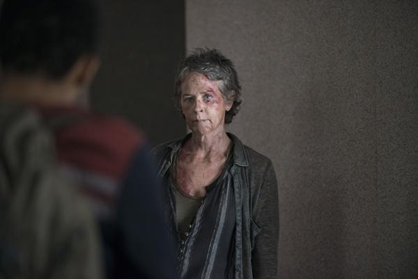Melissa McBride als Carol Peletier, The Walking Dead, Season 5, Episode 6 © Gene Page/AMC