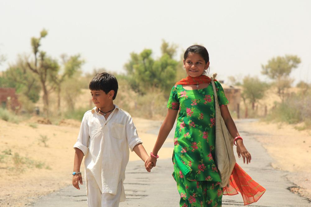Dhanak | Rainbow | Regenbogen Land: IND 2014 Regie: Nagesh Kukunoor Bildbeschreibung: Krrish Chhabria, Hetal Gada; Sektion: Generation © Kukunoor Movies