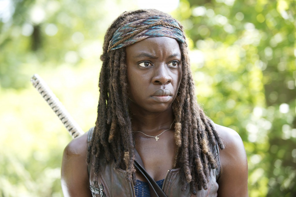 Danai Gurira als Michonne, The Walking Dead, Episode 9 Staffel 5 © Gene Page/AMC