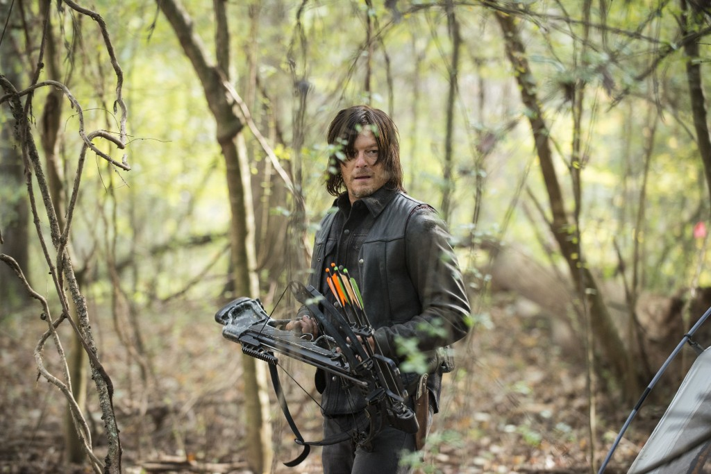 Norman Reedus als Daryl Dixon, The Walking Dead, Staffel 5 © Gene Page/AMC