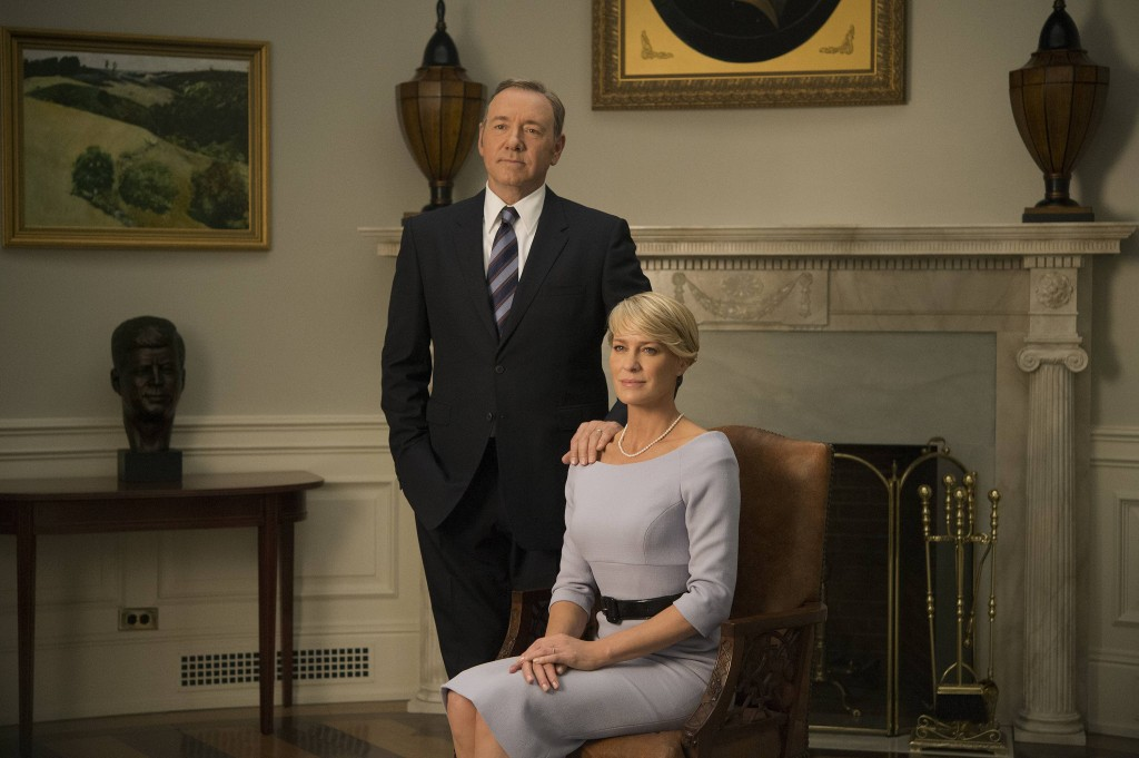 Francis und Claire Underwood in House of Cards © 2015 MRC II Distribution Company L.P. All Rights Reserved